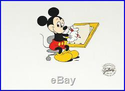Original Publicity Sericel, Walt Disney, Mickey Mouse, 1990's