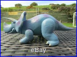 Pixar Disney Store Toy Story 3 4 TRIXIE Dinosaur LARGE 10 PVC Action Figure