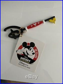 RARE LIMITED EDITION Mickey Mouse 90th Anniversary Key Disney Store