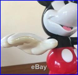 RARE Mickey Mouse ANIMATED TALKING LAMP Vintage Disney Light Peaq, 15'' Tall