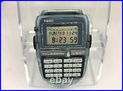 Rare! CASIO Disney Store Limited Mickey Mouse DATA BANK Wristwatch DBC-63