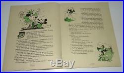 Rare Disney1930 1stmickey Mouse Bookcomplete Vf+/8.5+comic Strip Vs-bibo&l Ang