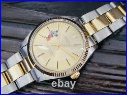 Rolex Disney Mickey Mouse Oyster Perpetual Watch Automatic Rare Overhauled Ex++