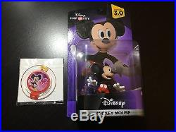 Signed D23 2015 Disney Infinity 3.0 King Mickey Mouse Kingdom Hearts Power Disc
