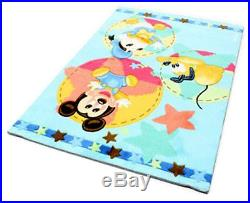 TD-11343-Teppich für Kinder Zimmer Disney Mickey Mouse 120x80 Cm Farah1970