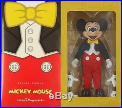 Tokyo Disney Resort Mickey Mouse Action Figure Tuxedo Medicom Toy Japan F/S New