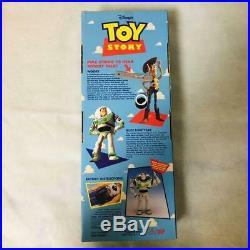 Toy Story Poseable Pull-String Talking Woody Thinkway original 1995 Disney Pixar