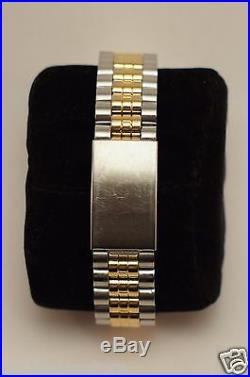 Unisex Disney Mickey Mouse Watch MC0163 by SII (Seiko) in Gold & Silver Tone