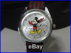 Vinatge 1970's SEIKO mechanical watch Mickey Mouse 5000-7000