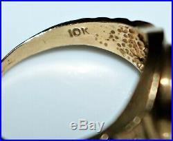 Vintage 10k Yellow Gold Mickey Mouse Ring, Size 8 Walt Disney