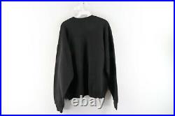 Vintage 90s Disney Womens XL Mickey Minnie Mouse Halloween Sweatshirt Black USA