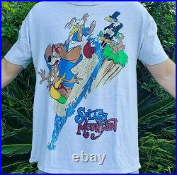 Vintage 90s Splash Mountain Disneyland T Shirt Mickey Mouse Song of the South