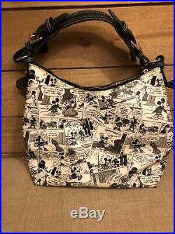 Vintage Disney Dooney Bourke Mickey Mouse Comic Satchel Purse Handbag Hobo