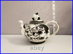 Vintage Disney showcase collection Mickey Mouse Steamboat Willie Teapot a