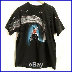 Vintage MICKEY MOUSE FANTASIA DISNEY ALL OVER PRINT T SHIRT SIZE XL 90s