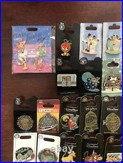 Walt Disney Pins Lot of 40 Pins as Pictured No Duplicates